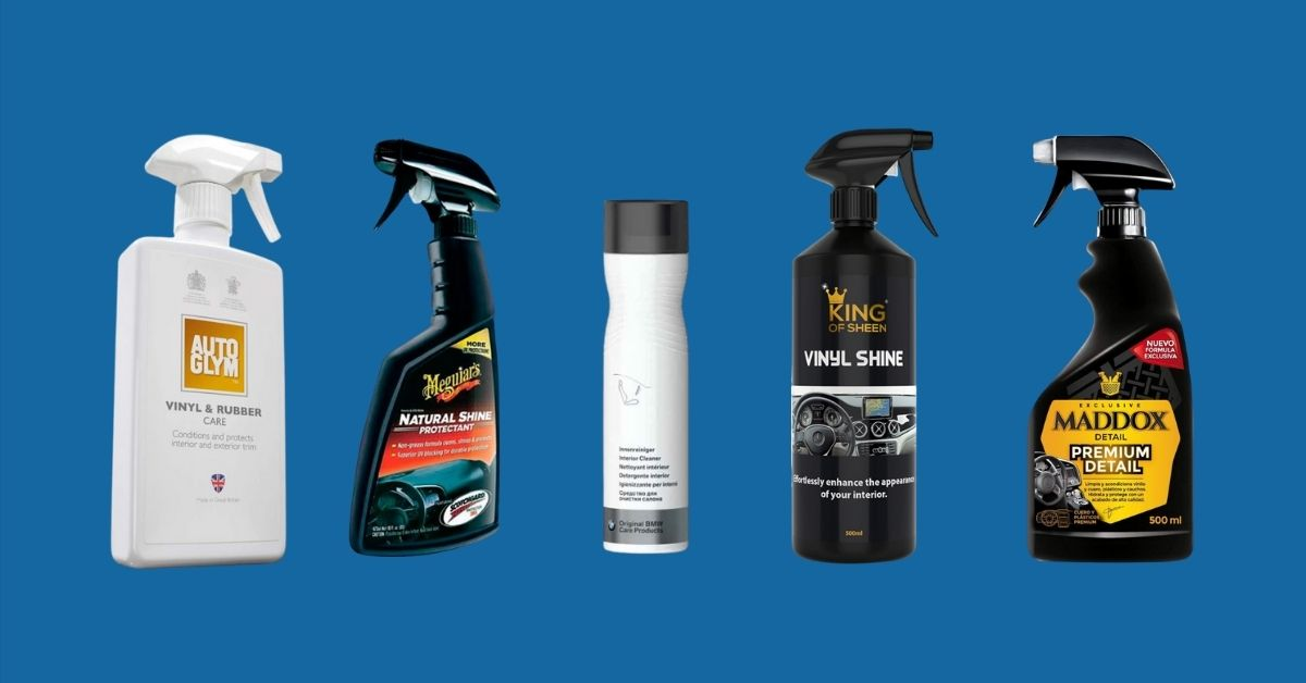 9 Best Dashboard Cleaners for Cars [UK Guide]