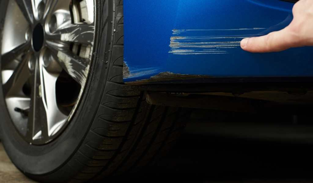 Common Causes of Car Scratches